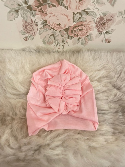Baby Turban Hat Pink