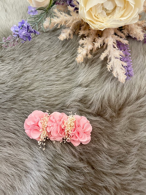 Floral Pink Bow