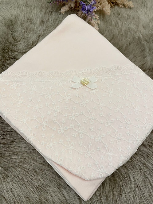 Lace Pink Blanket
