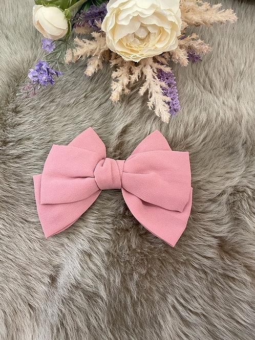 Big Dusty Pink Bow