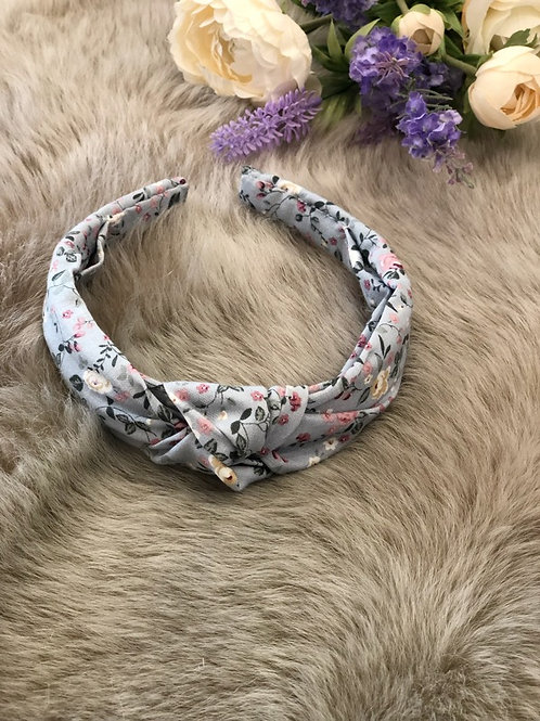 Hairband Floral Blue