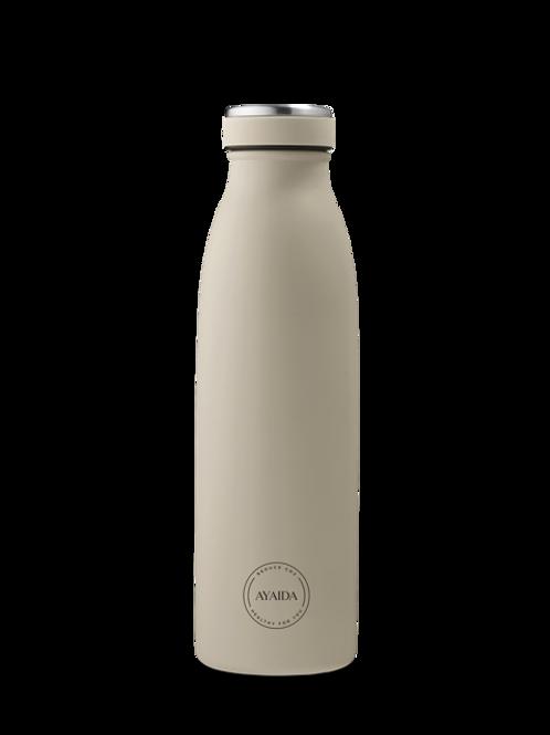 Bottle 500 ml cream beige