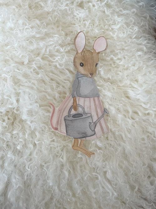 Wallsticker Mouse Hanna