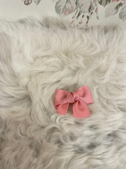 Grosgrain Bow Small Blush