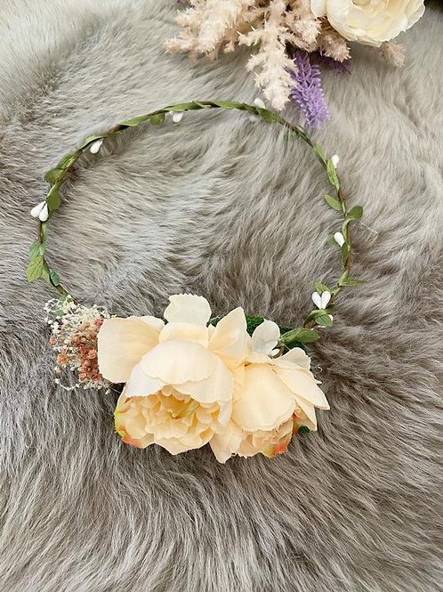 Flower Crown Peach Peony