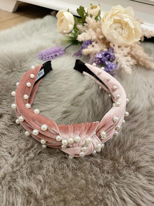 Hairband Velvet Rose