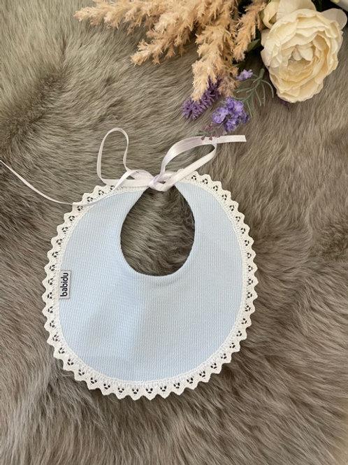 Bib Knit Soft Blue