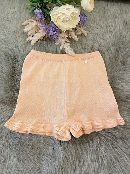 Knitted Peach Shorts