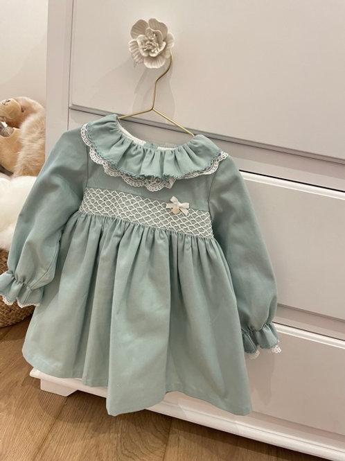 Dress Smocked Mint