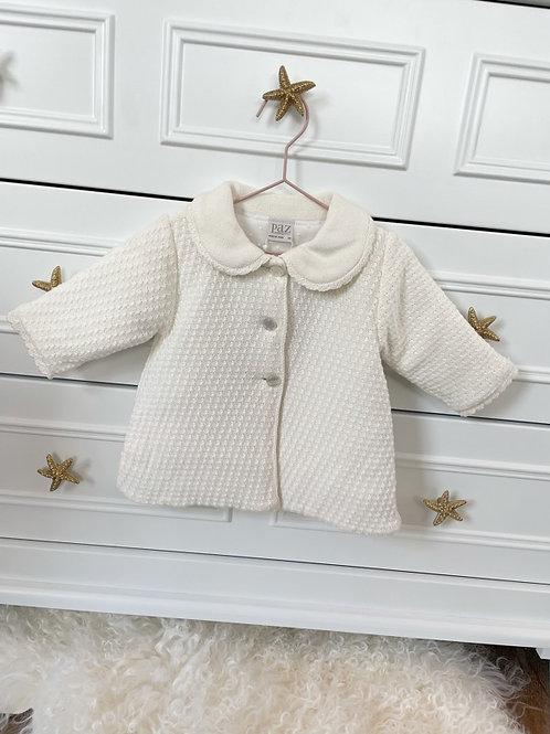 Paz Coat Knitted ivory