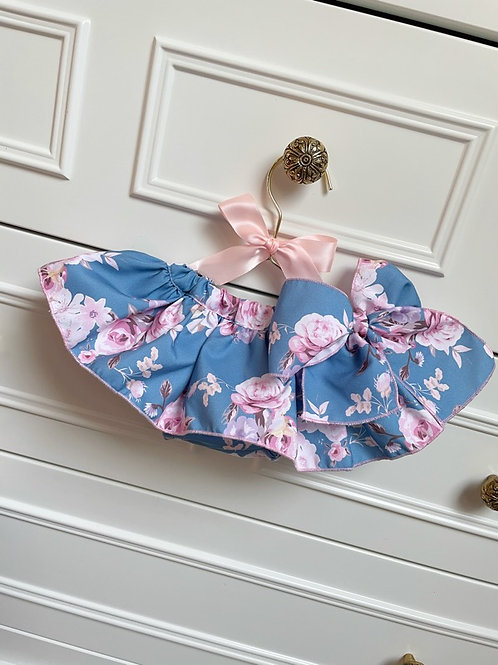 Swim Bloomer Floral Blue