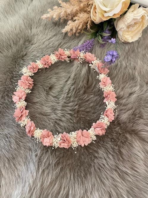 Flower Crown Full Pink