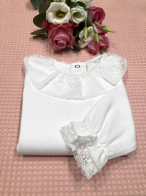 Body White Luxury Lace