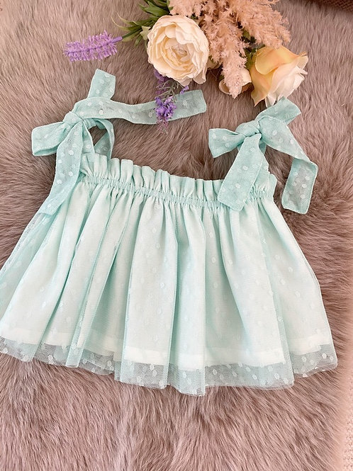 Top Tulle Mint