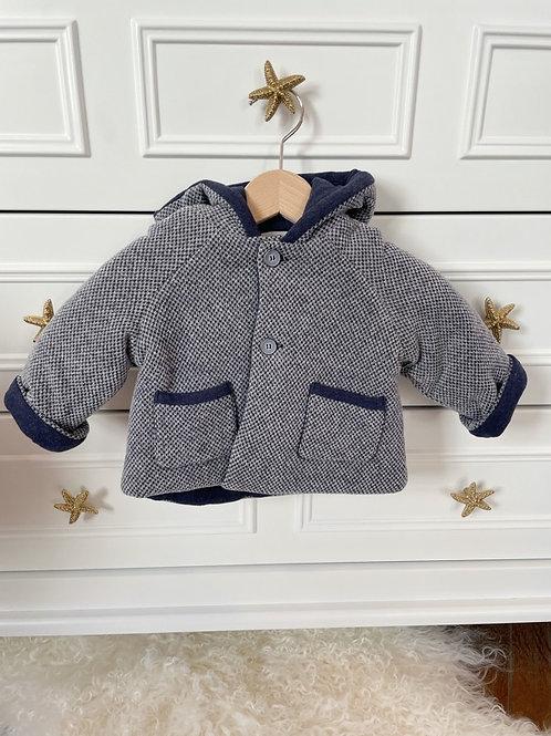 Paz Coat Misty Blue