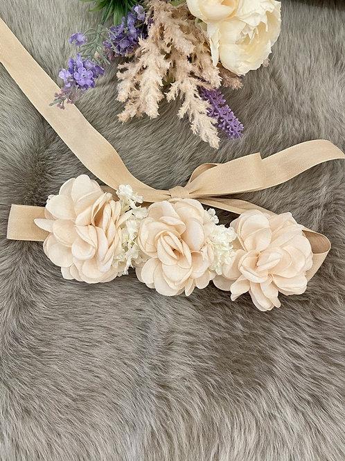Flower Belt Nude