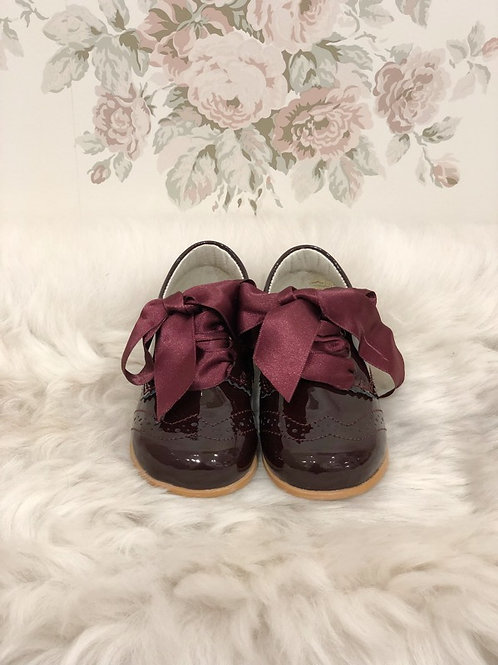 Shoes Jacqueline Burgundy