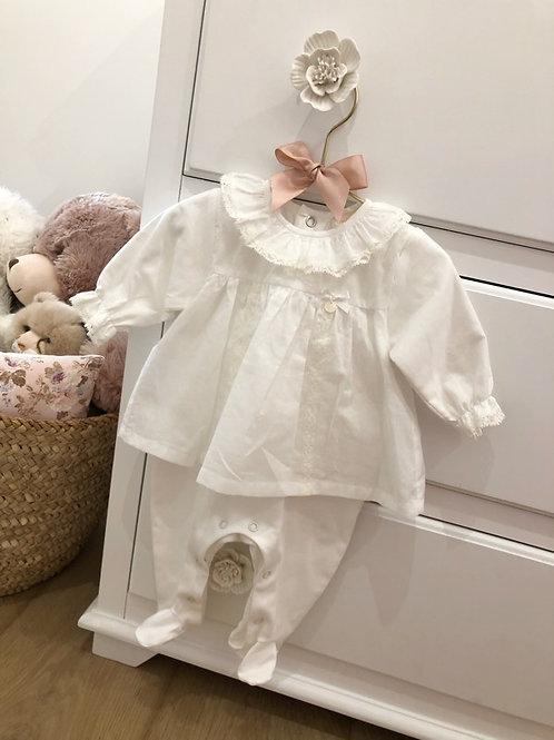 Pyjamas lace Ivory