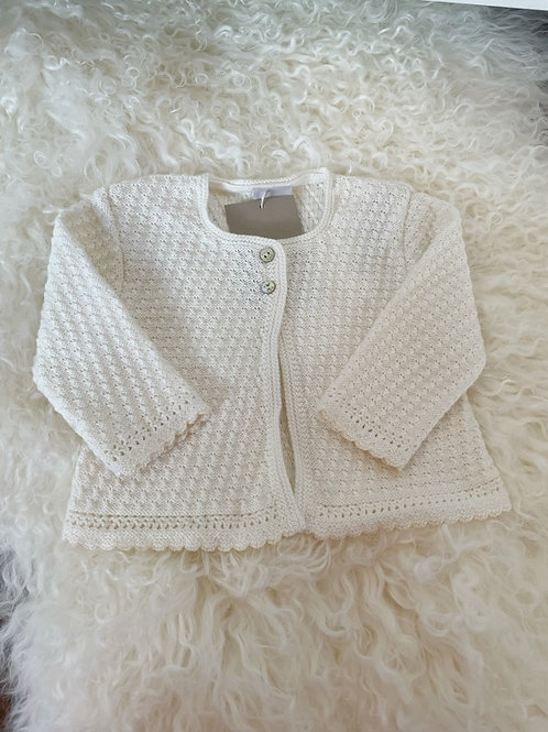 Paz Cardigan Knitted Ivory