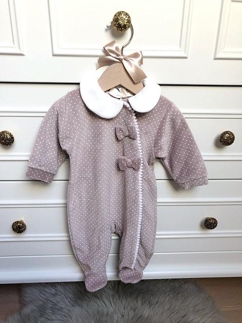 Pyjamas Vieux Rose Velour