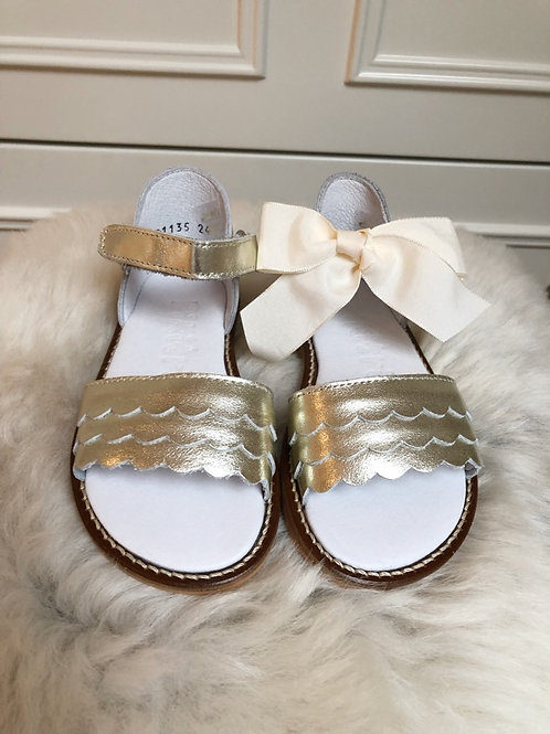 Gold Jane Sandals