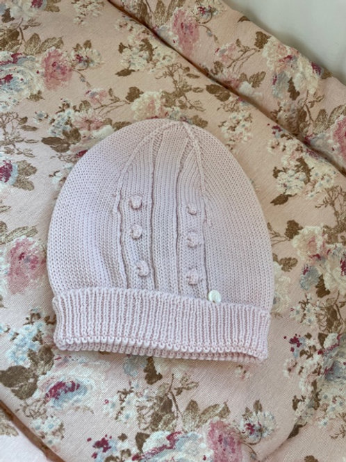 Baby Hat Wedoble Pink