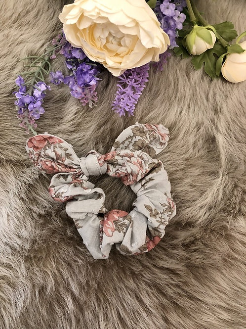 Scrunchie Ellie Grey