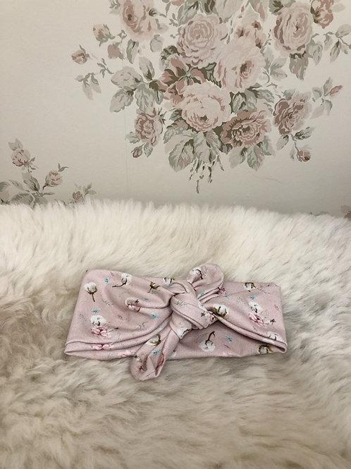 Knotted Headband Blossom Pink