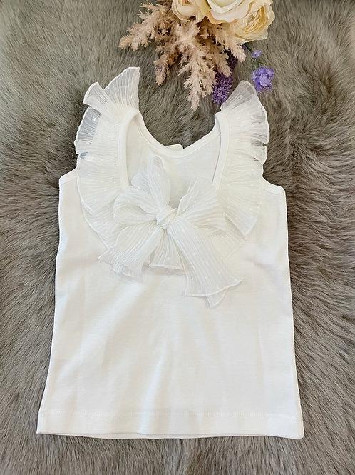 Shirt Ivory Bow