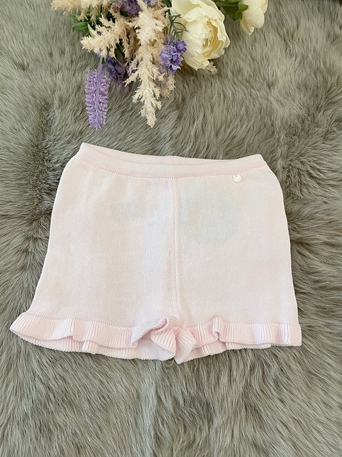 Knitted Pink Shorts