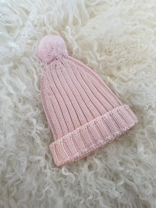 Hat Wedoble Pink Pompom