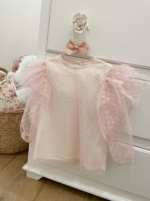 Blouse Tulle Pink