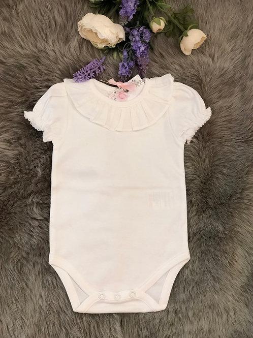 Body Ivory frill short sleeves