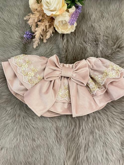 Bloomer Velvet Nude Lace