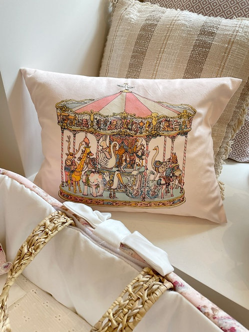 Cushion Velour Carousel