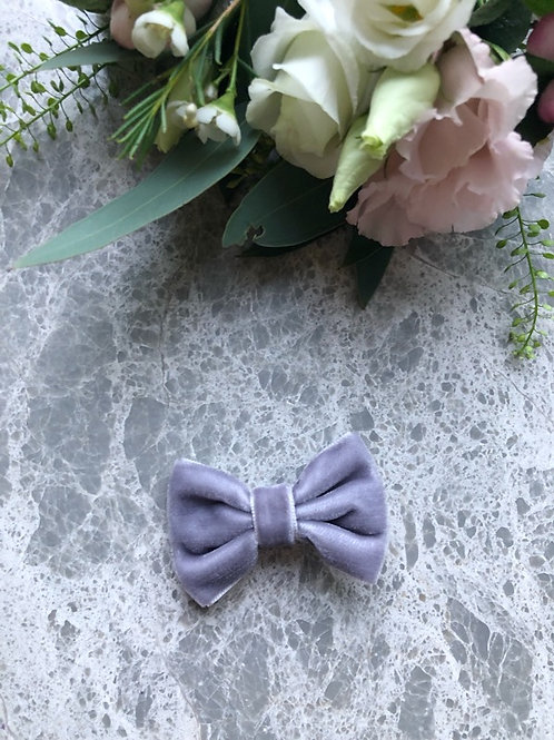Velvet Bow Lila mini