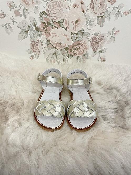 Gold Siena Sandals