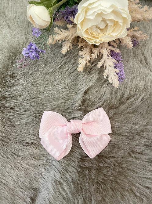 Grosgrain Baby Pink Bow