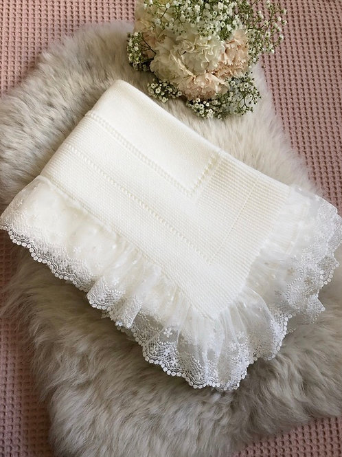 Luxury Ivory Blanket