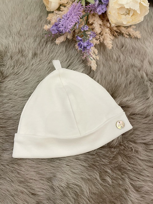 Baby Hat Ivory