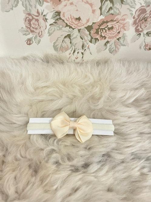 Baby Headband Ivory