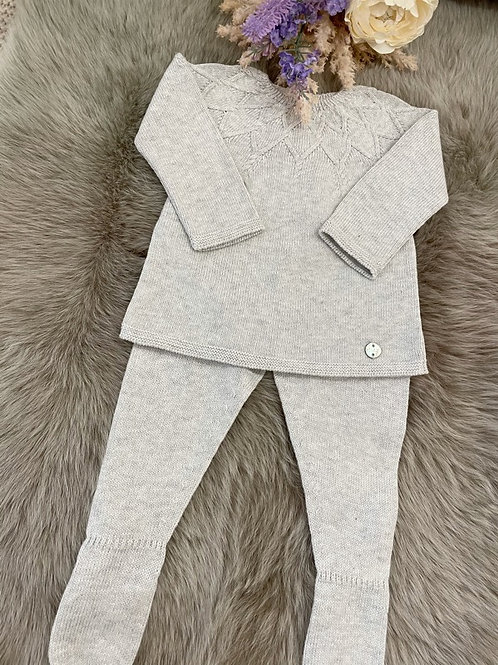 Set Knitted Grey