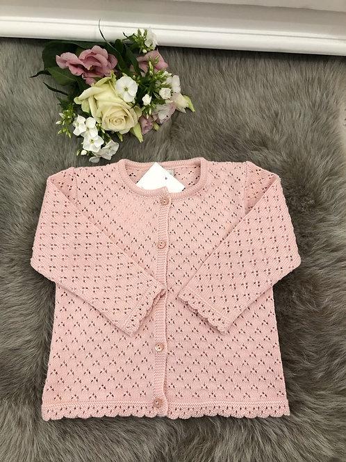 Cardigan powder pink Céline