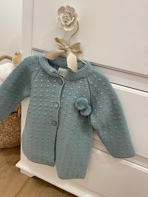 Paz Coat Knitted Mint