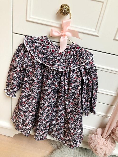 Dress Floral Nero