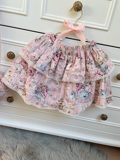 Ruffle Skirt Romantic Pink