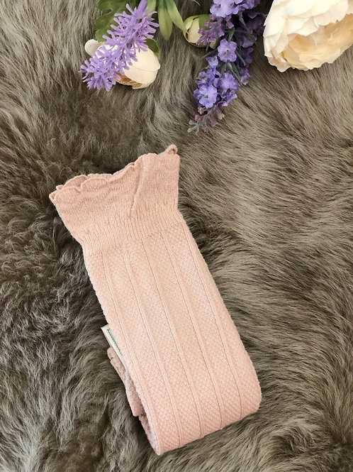 Amour Knee High Nude Pink