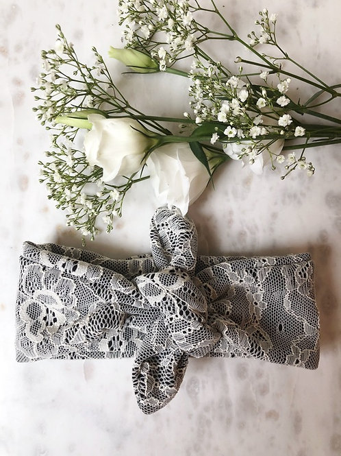 Knotted Headband Lace Deluxe