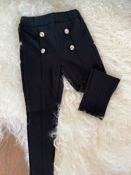 Paz Black Jersey Trousers