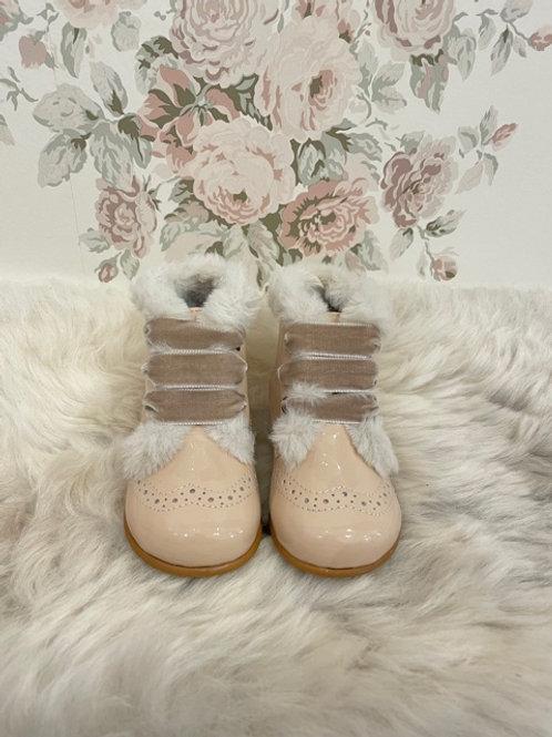 Boots Agnes Nude Fur